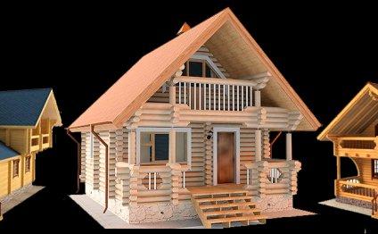 Строительство дома из кедра