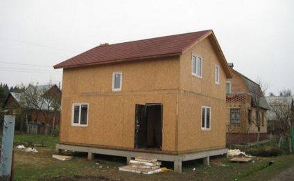 Каркасные дома, канадская