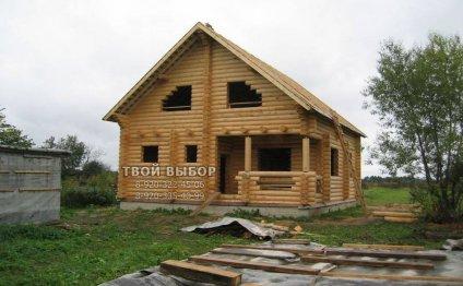 Смоленск: срубы бань домов